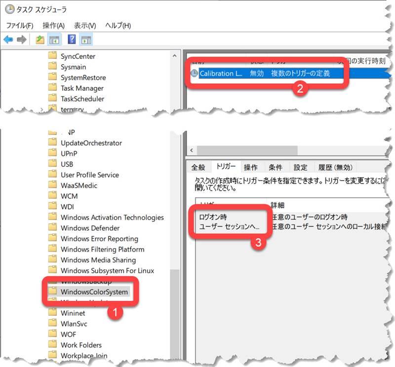 Windows タスクスケジューラ